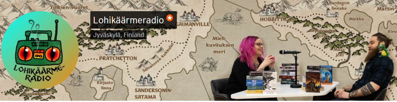 Lohikäärmeradio-podcast Soundcloudissa