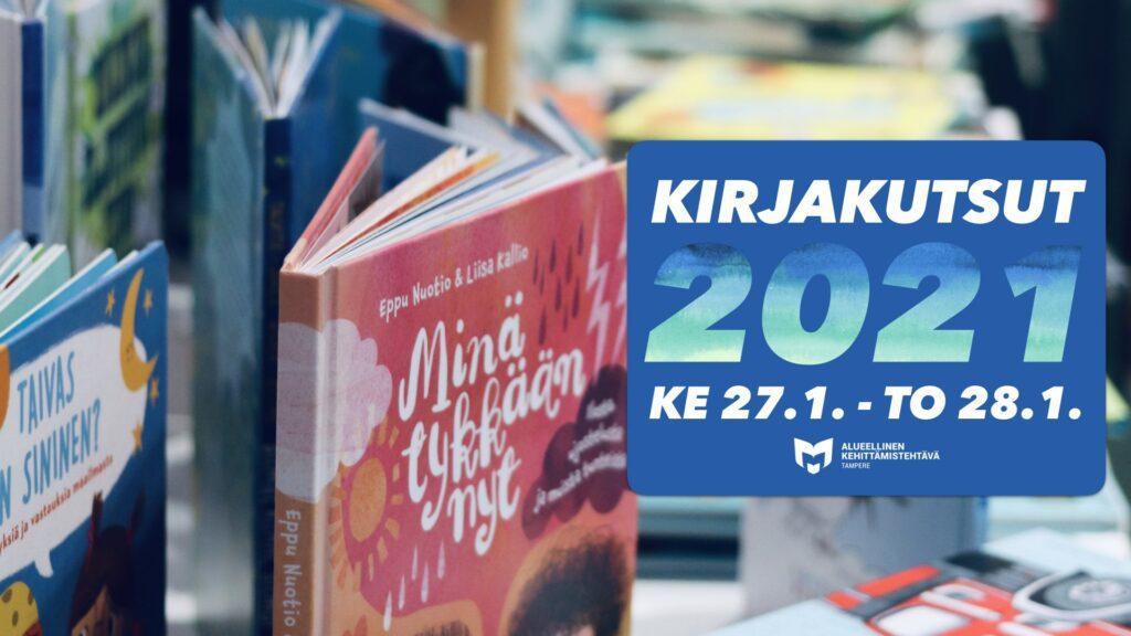 Kuvituskuva Kirjakutsut 2021 -tilaisuudesta.