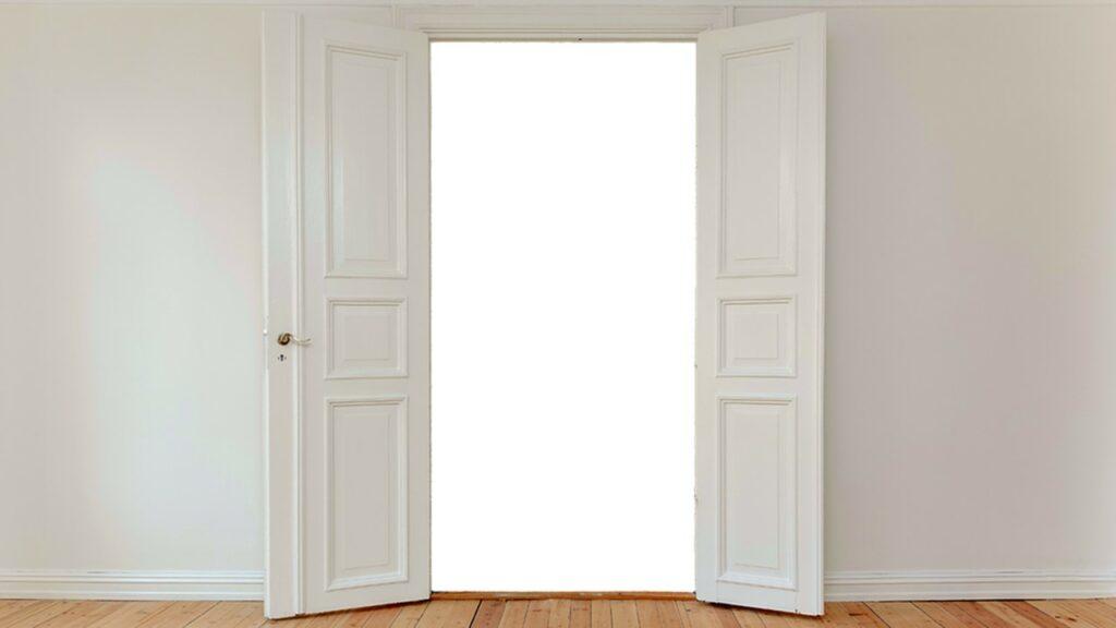 Avoin oviaukko